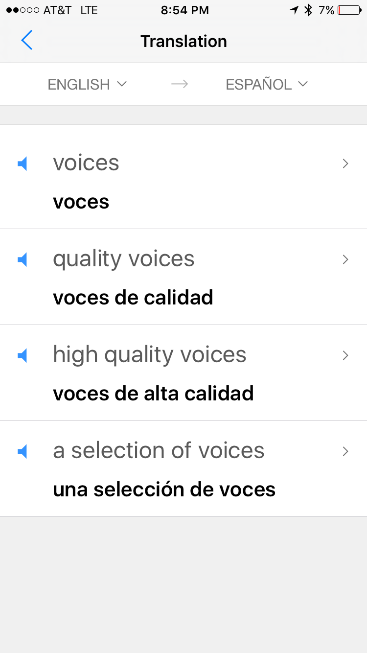 Select Any Word Or Phrase In The Track To Look Up Its Translation Or  Definition If